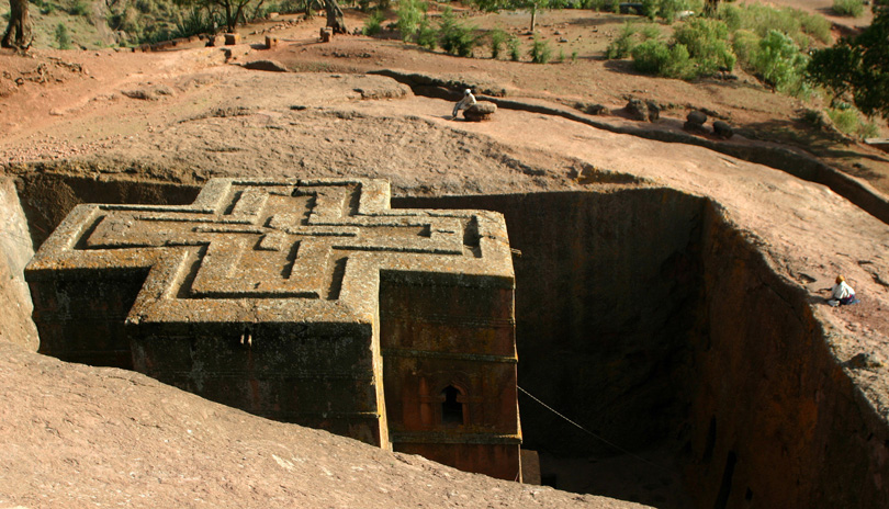 Ethiopia - Church of St George, Lalibela