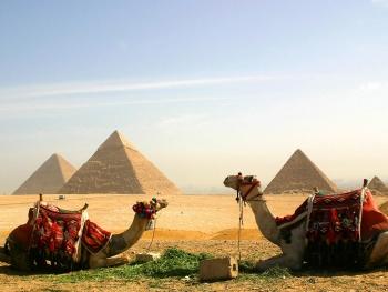 Giza pyramids, Cairo, Egypt copy