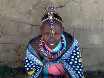 Maasai girl, Kenya