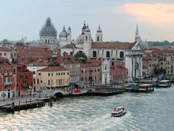 Sunrise over Venice, Italy