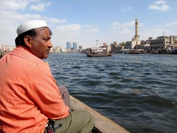 Abra water taxi, Dubai, UAE