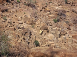 Dogon village, Bandiagara escarpment, Mali