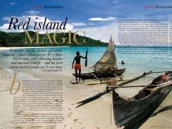 Travel Madagascar - Red Magic Island