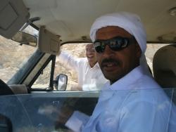Bedouin driver Ali