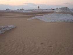 White Desert scenery