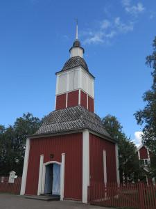 Jukkasjarvi church entrance
