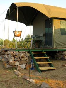 Akagera bush camp
