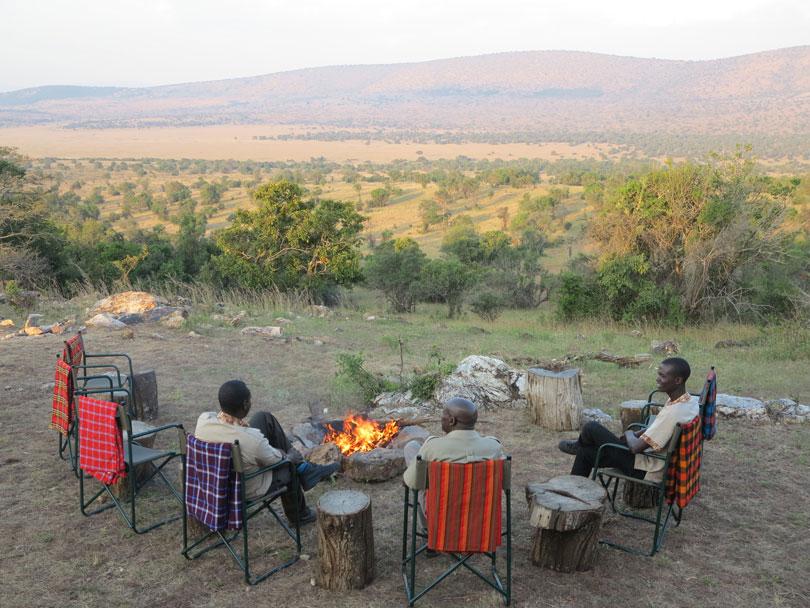 Karenge bush camp, Akagera, Rwanda