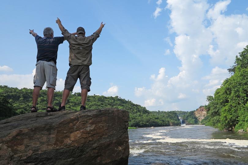 Murchison Falls salute