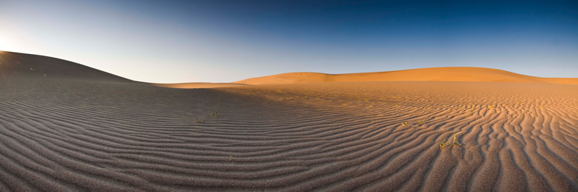 Natural sand art