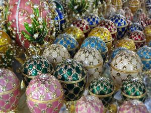 Souvenir Faberge eggs